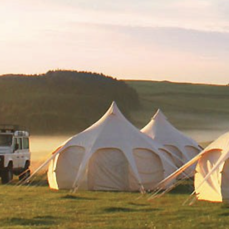 UK Festival Glamping (in your own garden?)