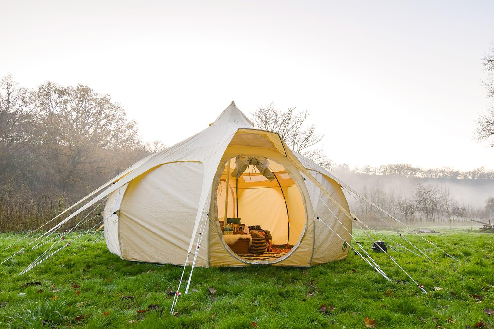 Four Metre Original Lightweight tent from Lotus Belle