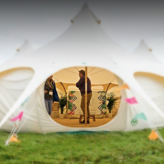 How to make the most of your visit to The Glamping Show 2020