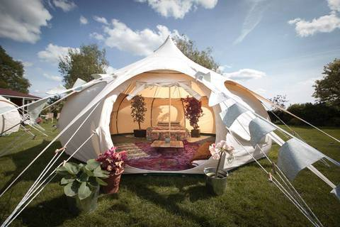 ... at Falmouth University in an attempt to fuse together the best aspects of Yurts and Bell tents. Her dissertation was titled u0027The importance of Circular ... & A Brief History Of Camping u0026 Glamping   Lotus Belle Tents UK